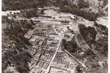 Ρόδος. Η Αρχαία Κάμειρος από Υδροπλάνο  1939