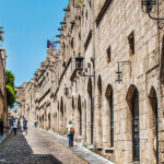 RHODES ISLAND - THE OLD TOWN OF RHODES